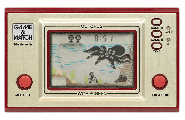 Octapus / Vintage Handheld Video Game